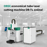 OREE economical tube laser cutting machine OR-TL online!